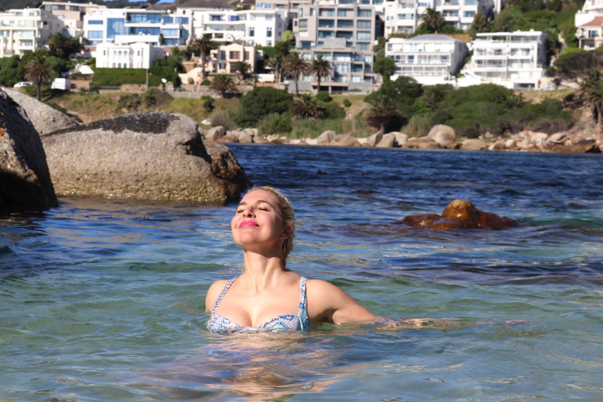 Cape Town cold water swimming